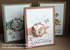 ... kann man doch immer schöne Geburtstagskarten gebrauchen! Ich jedenfalls schon ;o) Wie ihr...
