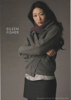 Eileen Fisher, the (un)official sponsor of the wardrobes of 90% of Int. Virginia Woolf Conference attendees. :) I was in the missing 10%; I don't have anything by EF, but I foresee EF assuming a position on my body in the future.