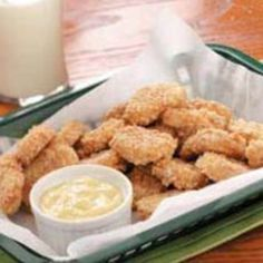 Cookie Nuggets with Butterscotch Dip Recipe   Just A Pinch Recipes
