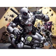 Figurine Kotobukiya Deadpool Marvel Now ArtFX+ Statue (X-Force Vers. Marvel Comics, Ms Marvel, Bd Comics, Marvel Comic Books, Marvel Characters, Marvel Heroes, Comic Books Art, Comic Art, Mundo Marvel