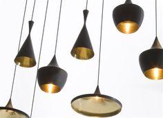 Diverse vormen van mooie lamp