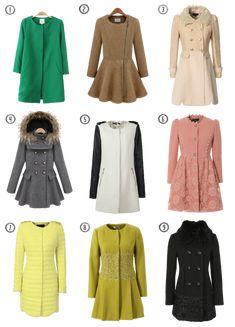 Cute Winter Coats!