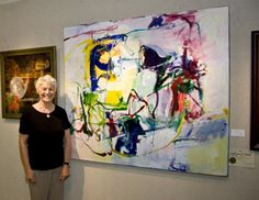 """St. Augustine Art Association www.staaa.org360 × 279Search by image New Smyrna Beach artist Jean Banas won the Jean Wagner Troemel Best in Show Award for her Abstract Expressionist acrylic painting, """"My Tears Are For You."""""""