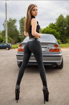 Yoga Leggings, Leggings Are Not Pants, Yoga Pants, Bmw Girl, Bodysuit, Funny Sexy, Sexy Latex, Hot Rides, Car Girls