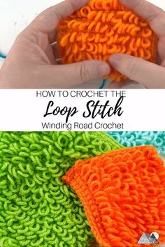 Learn to crochet the loop stitch texture with this video and photo tutorial. # crochet stitches tutorial videos Crochet Loop Stitch Video Tutorial by Winding Road Crochet Crochet Loop, Learn To Crochet, Easy Crochet, Crochet Stitches, Free Crochet, Tutorial Crochet, Crochet Beanie, Amigurumi Tutorial, Needlepoint Stitches