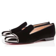 18fce8fa55b Louboutin Ballerine Violet Rivets Noeud. louboutin femme · louboutin femme  · Christian Louboutin Big Kiss Studded Flats Black Louboutin Shoes ...