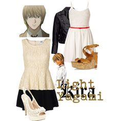 """Light Yagami - Death Note"" by roishey on Polyvore"