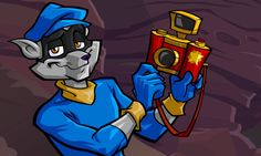 Sly Cooper 3: Honor Among Thieves! This scene made me laugh so hard!!!!