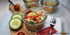 Bulgursalat mit Schafskäse to go Thermomix® Rezept - Danis treue Küchenfee