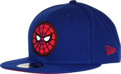 100% authentic fe14f 28b10 Spiderman Homecoming New Era 950 Beveled Logo Snapback Cap