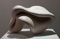 Extended Matter 6 by Katharine West. Stoneware with T Sig. 60 x 40 x 40 cm. Show runs at nag Gallery, Dublin till 1st December 2015.