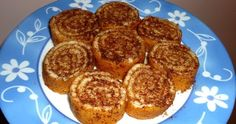 Ένα πολύ νόστιμο γλυκό που μπορούμε να φάμε ακόμα και στη φάση της επίθεσης!             Τη συνταγή τη βρήκα στο site της  Laura Ada... Dukan Diet Recipes, Stevia, I Foods, French Toast, Healthy Living, Muffin, Food And Drink, Low Carb, Sweets