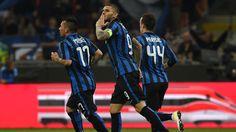 @intermilan1908 Il Napoli crolla a 'San Siro' sotto i colpi dell' #Inter che vince e si rimette in corsa per il terzo posto, a decidere la gara sono i goal di Mauro Icardi e Marcelo Brozovic #9ine