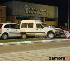 Tres heridos leves en un accidente por alcance en la entrada de Zamora por la N122
