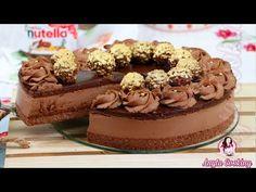 Aces tort ciocolatos Ferrero Rocher + Nutella , sigur o sa va placa foarte mult ! Este perfect pentru ocazii mai speciale ! Sper sa va placa!