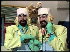 .The original TV Show Castelo Ra-Tim-Bum, in 1994.