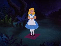 Alice in wonderland movie screen cap