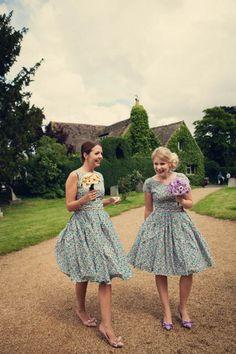 Custom 1950s styled dresses. Alexandra King.