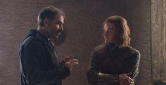 Game of Thrones: Miguel Sapochnik and Robert Aramayo