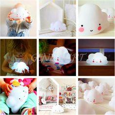 Night-Light-Cloud-LED-Lamp-Romantic-Home-Decor-Kids-Baby-Children-Toy-Gift-White