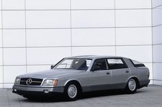 Fuel efficiency has been a hot topic for years with hybrids becoming commonplace, but Mercedes-Benz was already looking in that direction way back in 1981. They debuted the Auto 2000 at the Frankfurt Motor Show as a car that used aerodynamics and mechanical advancements to be as fuel efficient as possible. The design might not