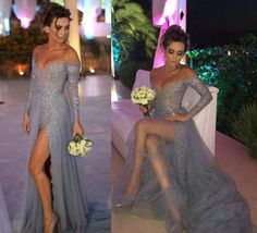 Charming%20Grey%202016%20Long%20Sleeves%20Dresses%20Evening%20Wear%20Elie%20Saab%20Off%20Shoulder%20Beaded%20Sequins%20Split%20Evening%20Gowns%20Buy%20Gowns%20Online%20Cheap%20Evening%20Dress%20From%20Fashion_vane%2C%20%24113.57%7C%20Dhgate.Com