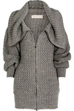 Winter coat from Bershka