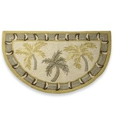 Palm Tree Bath Towels | Palm Tree Rug Pictured: Bacova Citrus Palm Rug By  Bacova Guild. | Hawaiian | Pinterest | Palm, Bath And Tree Wall Murals