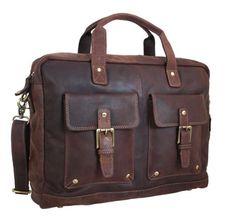 Eine schöne #Vintage #Aktentasche  #optimal für das #Büro und den #modernen #Gentleman