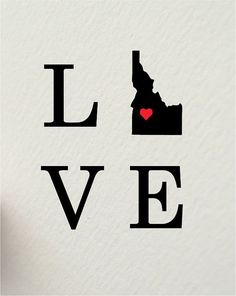 Proud to be an Idaho native! (Even if I'm also happy to no longer live there . . .)
