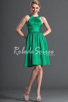 f7596656995 L arrivée de nouvelles bretelles Sweety vert Cocktail Dress   ROBECOCKTAIL0023  - €98.56