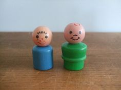 Vintage Fisher Price Little People Play Family Figures by jessamyjay on Etsy