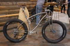 NAHBS 2013: Black Sheep's Full Suspension Titanium Fat Bike, 29+ Tandem & More!