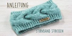 Free instructions: knit headband with cable pattern- Kostenlose Anleitung: Stirnband mit Zopfmuster stricken It does not always have to be a cap, even a headband protects the ears from the cold wind. Our free guide will help you implement this - Baby Knitting Patterns, Crochet Patterns, Afghan Patterns, Baby Patterns, Knitting Socks, Knitting Needles, Free Knitting, Free Crochet, Knit Crochet