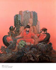 Kaneda, high lord of the post-apocalypse.