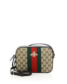 I haven't purchased anything with a logo print in a long time, but there's something charmingly retro about this Gucci Original GG canvas shoulder bag. Reminds me of a Gucci bag my mom had in the Black Cropped Pants, Fashion Week 2015, Canvas Shoulder Bag, Gucci Handbags, Fancy Pants, Louis Vuitton Damier, Purses And Bags, Beige, Purses