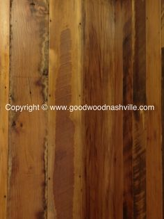 Reclaimed flooring by Good Wood Nashville