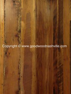 Reclaimed flooring by Good Wood Nashville