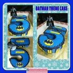 Batman cake. Braydon's 5th birthday.