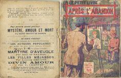 Georges Vallée - Emmanuel Fournier, Après l'abandon, Ferenczi Le Petit Livre... n°488, date illisible (1922), 80 pages.