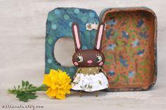 Mirianata - Brown bunny doll