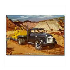 1952 GMC Truck Rectangle Magnet #Magnet #Gifts