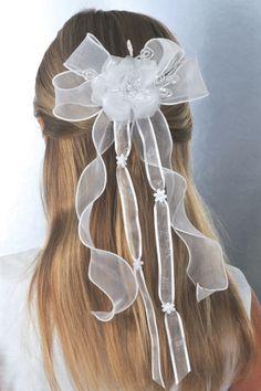 Blush Kids Inc. - Corrine First Communion Veil - Girls Hair Accessories - CH247, $32.00 (http://www.blushkids.com/corrine-first-communion-veil-girls-hair-accessories-ch247/)