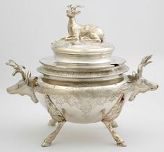 Gorgeous Victorian Silver Plated Soup Tureen