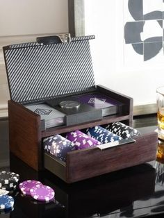 Bond Poker Set - Games   Decorative Accessories - RalphLauren.com