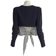 Maiyet Tie Back Sweatshirt