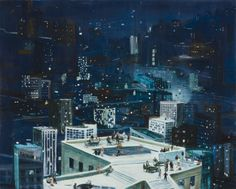 Jules de Balincourt, City Dwellers and Star Seekers, 2010