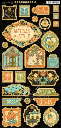 Artisan-style-chipboard-decorative