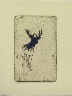 etching.  Sparked a lino print on wood block idea