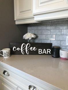 Coffee Bar Sign, But First Coffee Sign, Coffee Bar Decor, Farmhouse Signs, Farmhouse Decor, Fixer Upper Style, Fixer Upper Decor #etsyshop #etsycanada #etsyusa #modernfarmhouse  #cottagestyle #homeinspo #homedecor #wooddecor #woodsigns #farmhouse #farmhousestyle #farmhousedecor #rusticdecor #modernfarmhouse #joannagaines #fixerupper #fixerupperstyle #livingroomdecor #bhghome #pursuepretty #homestyling #housebeautiful #decorinspiration #rusticwedding #myhome #homemade #jillianharris…